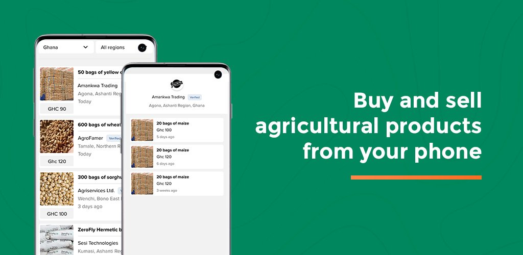 Introducing AgroMarket – A Digital Marketplace for all Agricultural Products