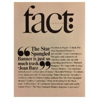 Herb Lubalin – Cover, Fact Magazine, 1965