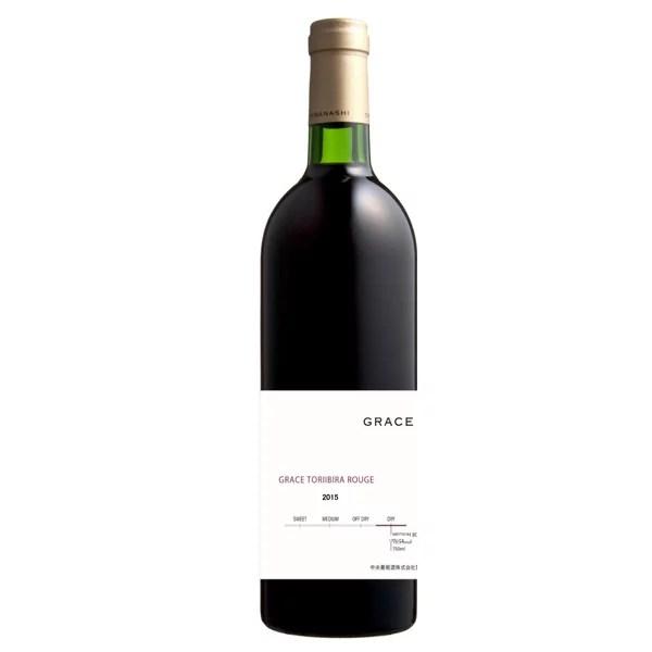 グレイスワイン 鳥居平ルージュ 2015 750ml