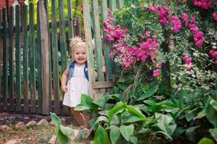 Les plantes peuvent entrer dans la vie de votre enfant très tôt