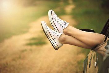 De simples gestes pour des jambes légères