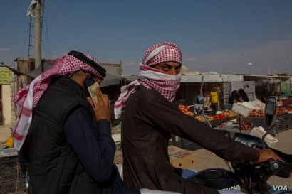 Some residents at al-Hol Camp arrived before Islamic State militants lost their last stronghold in Syria in March. Pictured Oct. 17, 2019. (Y. Boechat VOA)