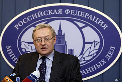 Russia's Deputy Foreign Minister Sergei Ryabkov (file photo)
