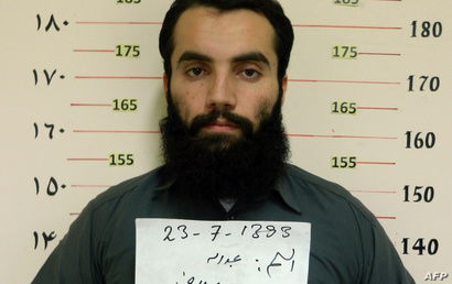 Taliban prisoner Anas Haqqani, a senior leader of the Haqqani network