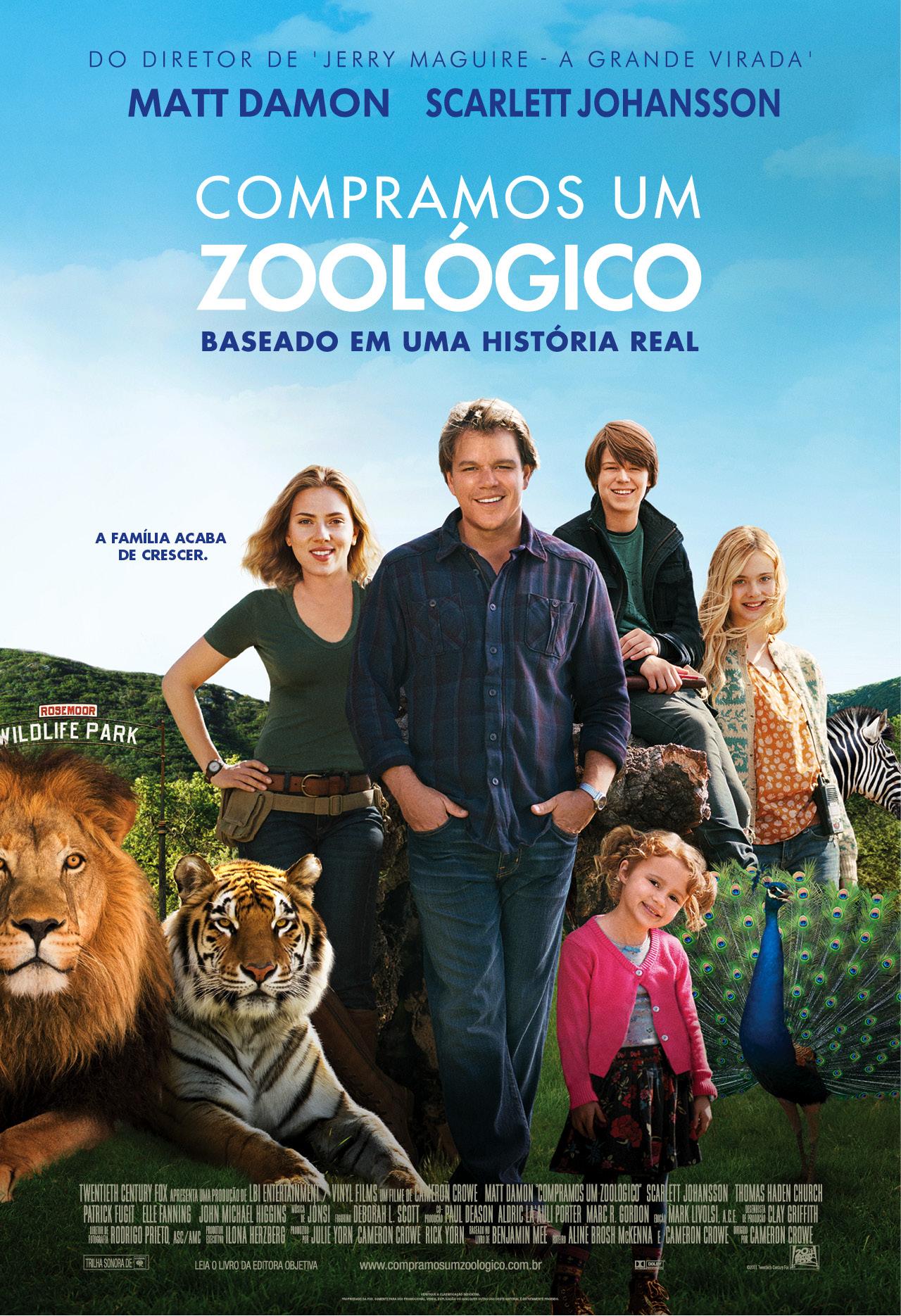 Compramos um Zoológico - Filme da Sessão da Tarde