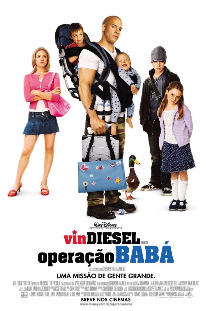 Cartaz do filme Operação Babá