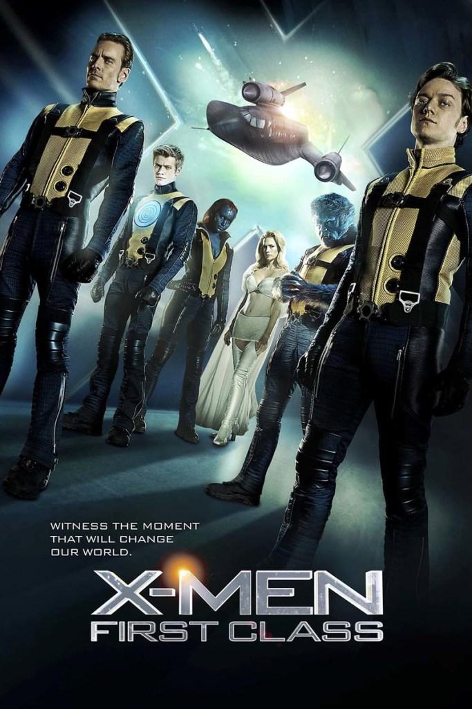Cartaz do Filme X-Men: Primeira Classe (Filme da Sessão da Tarde)