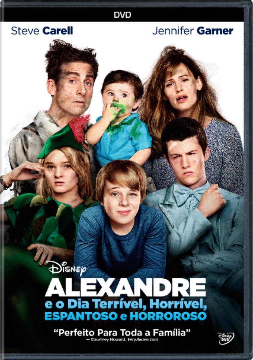 Cartaz do Filme Alexandre e o Dia Terrível, Horrível, Espantoso e Horroroso