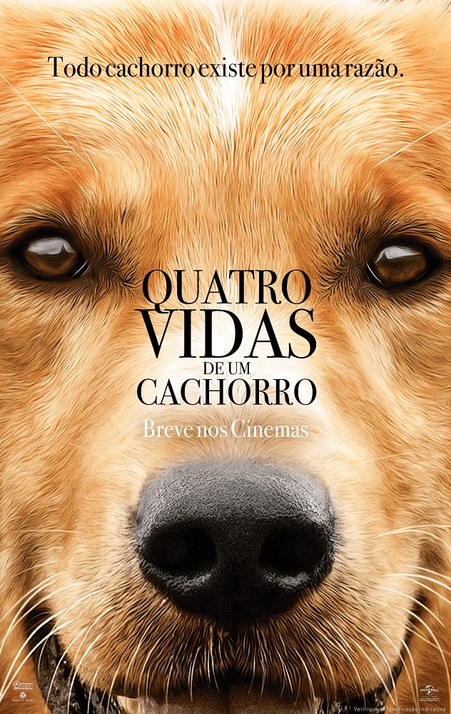 Cartaz do Filme Quatro Vidas de Um Cachorro