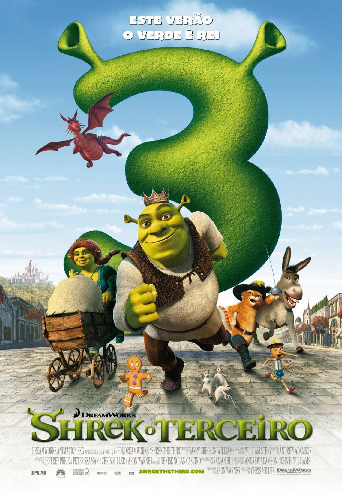 Cartaz do filme Shrek Terceiro