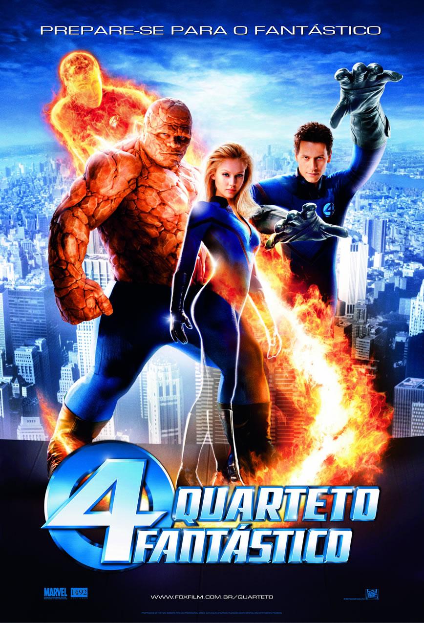 Cartaz do Filme Quarteto Fantástico