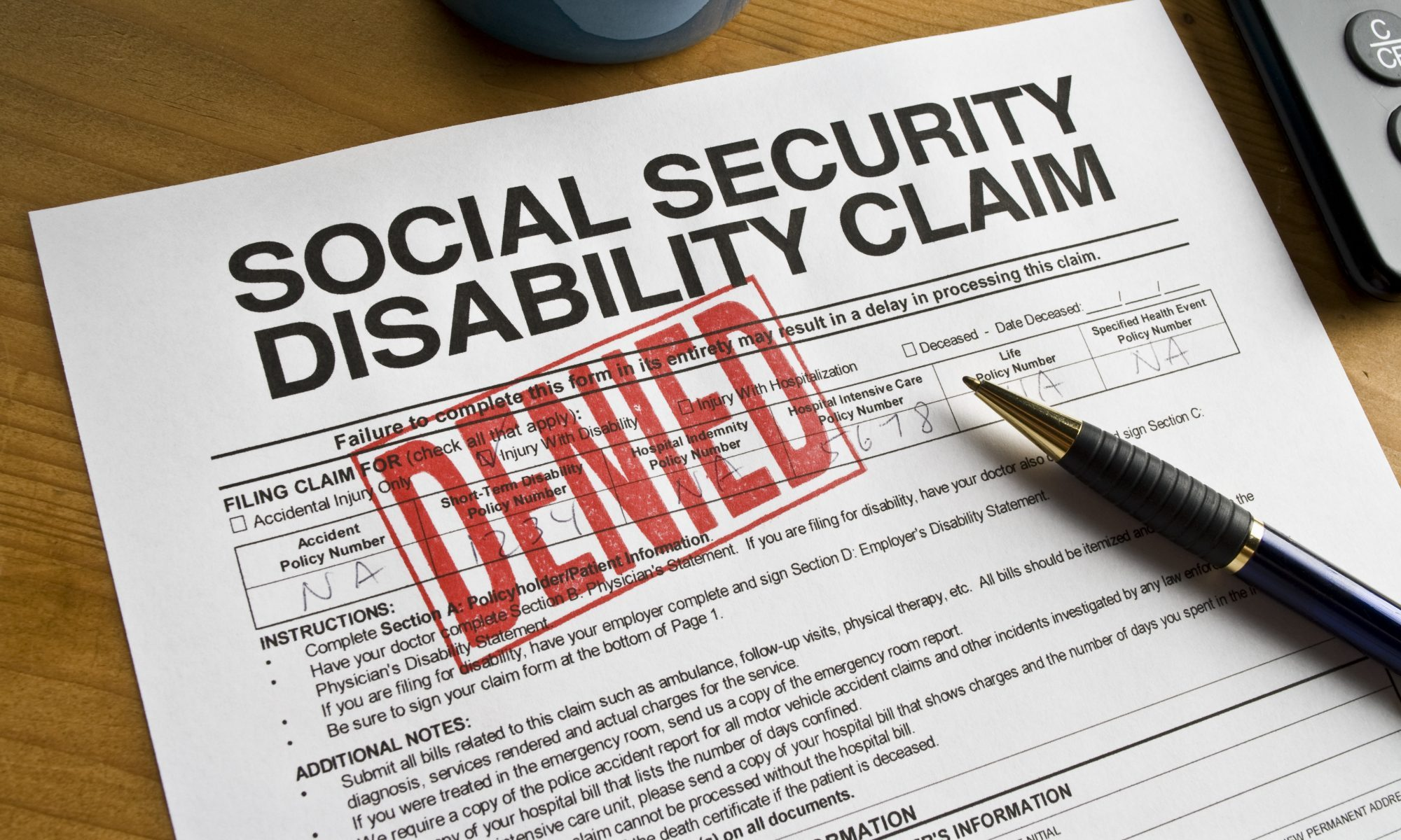 Disability Lawyer Evaluation Information