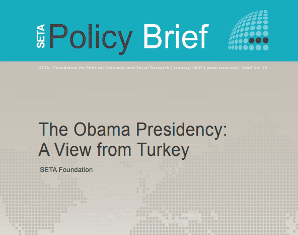 The Obama Presidency: A View from Turkey