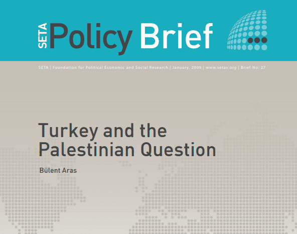 Turkey and the Palestinian Question