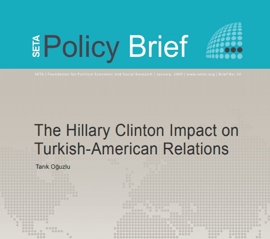 The Hillary Clinton Impact on Turkish-American Relations
