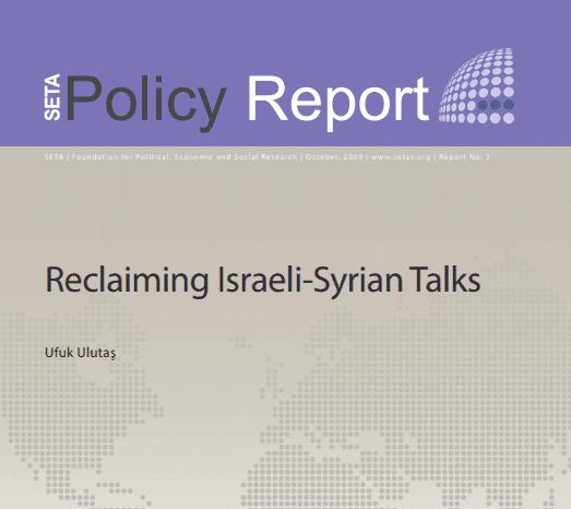 Reclaiming Israeli-Syrian Talks