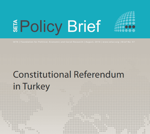 Constitutional Referendum in Turkey