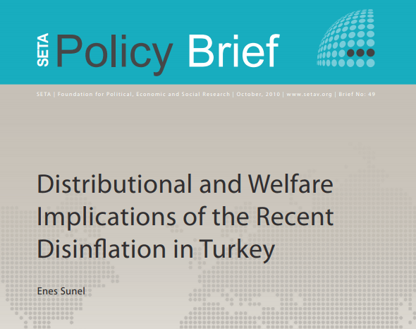 Distributional and Welfare Implications of the Recent Disinflation in Turkey