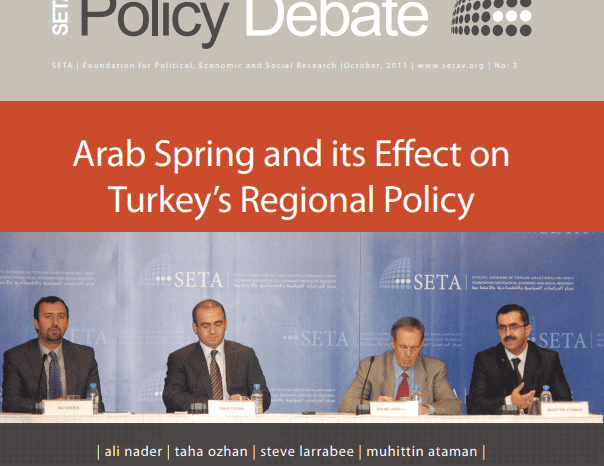Arab Spring and its Effect on Turkey's Regional Policy