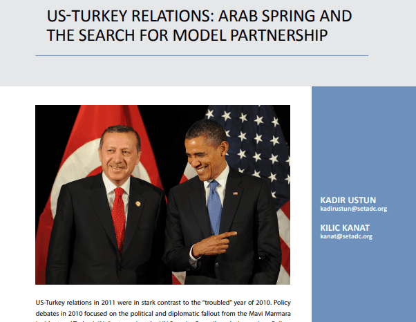 US-Turkey Relations: Arab Spring and the Search for Model Partnership
