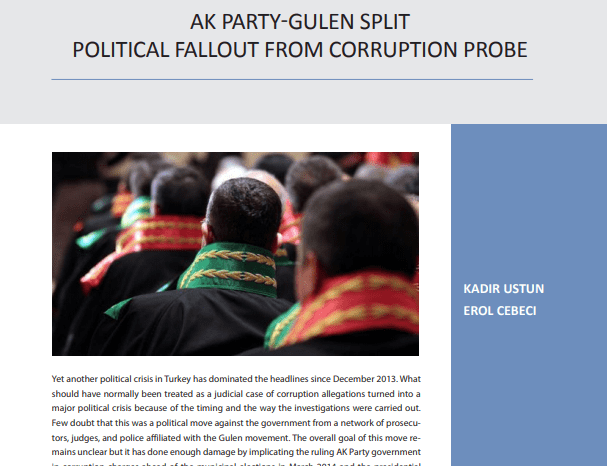 AK Party-Gulen Split: Political Fallout From Corruption Probe