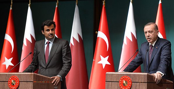 Turkey, Saudi Arabia and Qatar on Syria