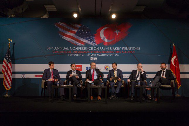 Kadir Ustun joins ATC Conference on U.S.-Turkish Relations