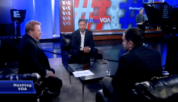 Kadir Ustun Interviewed by Voice of America's #HashtagVOA