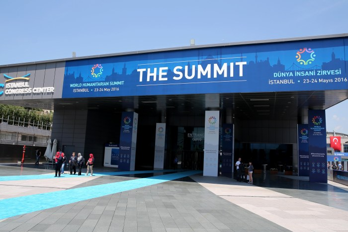World Humanitarian Summit in Istanbul