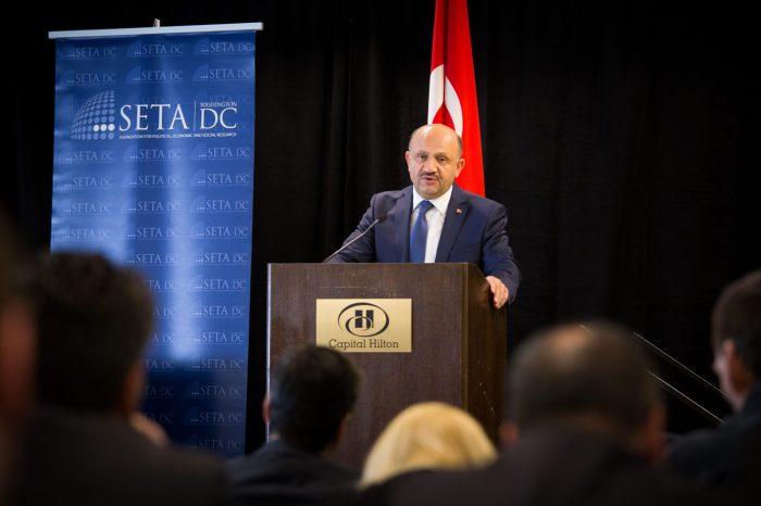 "Keynote Address by Defense Minister of Turkey and Panel, ""U.S. Strikes Assad: Toward a New Syria Policy?"""