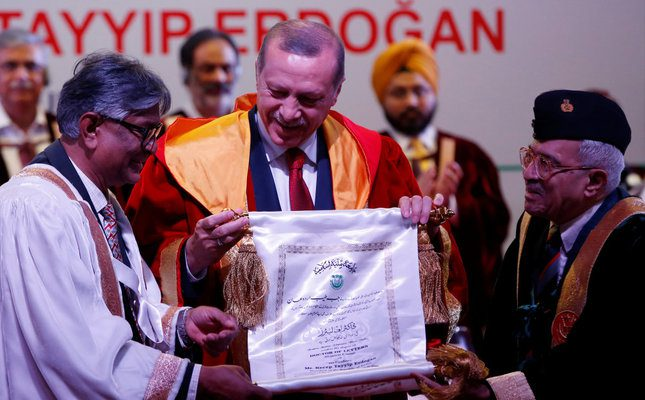 Erdoğan in India: 'The world is bigger than five'