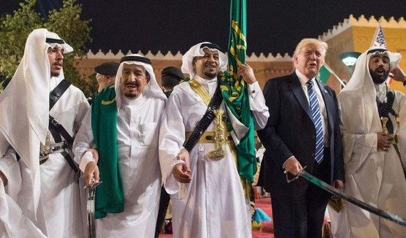Did Trump's 'selling security to rich countries' policy cause Gulf crisis?