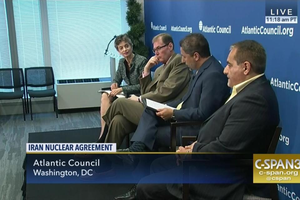 Kadir Ustun joins Atlantic Council panel on Iran Nuclear Deal