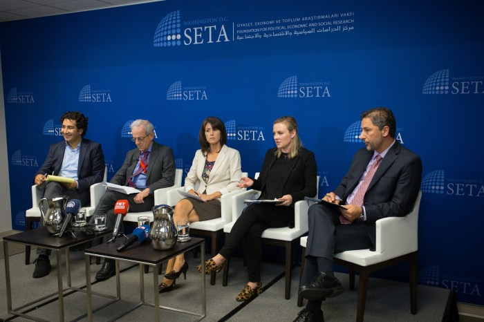 "Panel at SETA DC on ""The KRG Independence Referendum"""