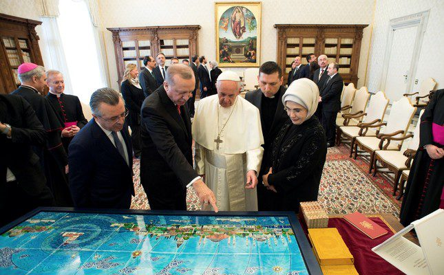 Erdogan in the Vatican and Europe's future
