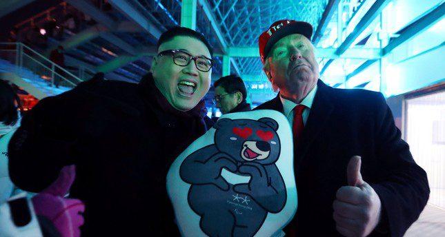 The meeting between Trump and 'Rocket Man'