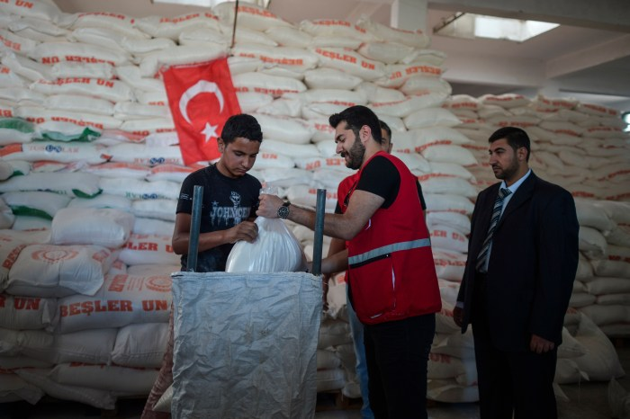 Turkish Aid to Palestinian Refugees