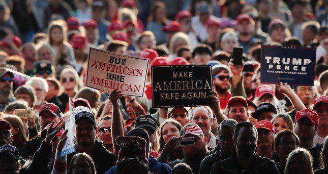 Campaign process driving polarization in US