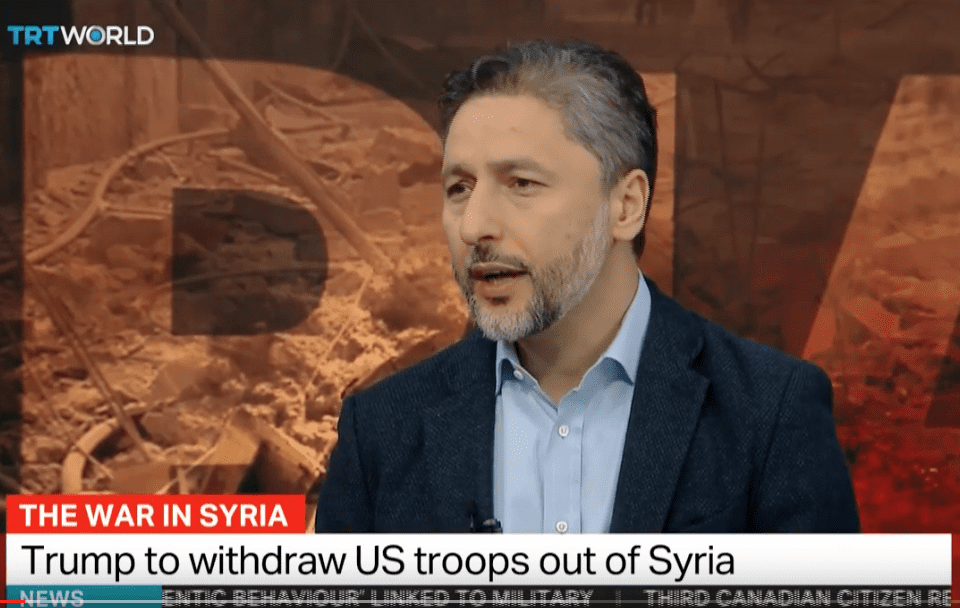 Turkey's YPG concerns contributed to Trump's Syria decision