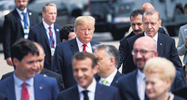 President Erdogan and President Trump NATO Summit
