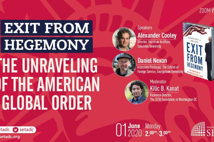Event Summary: Exit from Hegemony: The Unraveling of the American Global Order