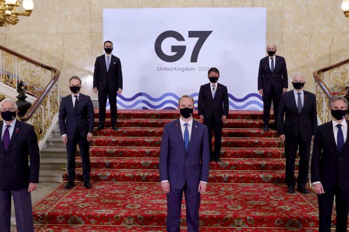 G7 Dışişleri Bakanları'ndan Çin ve Rusya'ya Mesaj