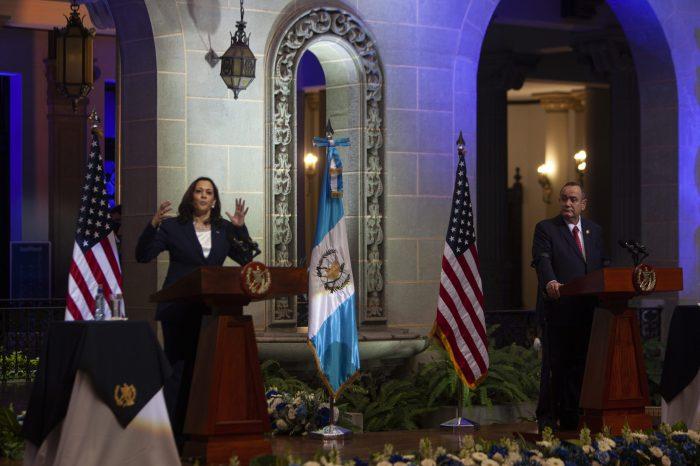 Harris İlk Yurt Dışı Ziyaretini Guatemala ve Meksika'ya Gerçekleştirdi