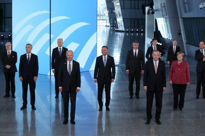 Biden NATO Liderler Zirvesine Katıldı