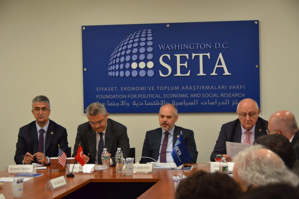 A Private Roundtable on The Future of the U.S.-Turkey Relationship with the Chair and Members of the Committee on Foreign Affairs of the Turkish Parliament
