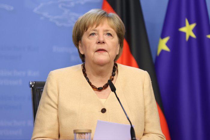 Merkel'den Washington'a Veda Ziyareti