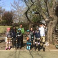 4月のインラインスケート教室(基礎・スラローム)を開催しました!