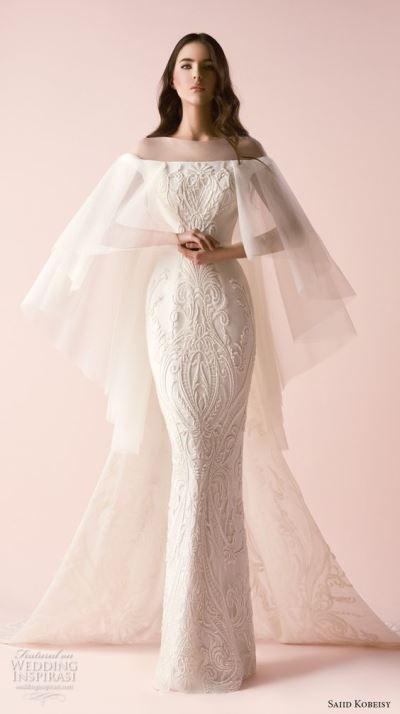 لباس عروس 2018؛ مدل لباس عروس پوشیده و جدید