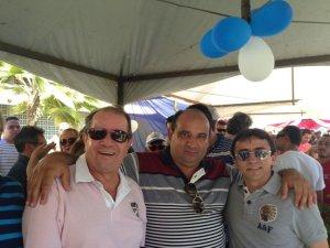 Eudo Laranjeiras, Antônio de Pádua e Arlan Rodrigues