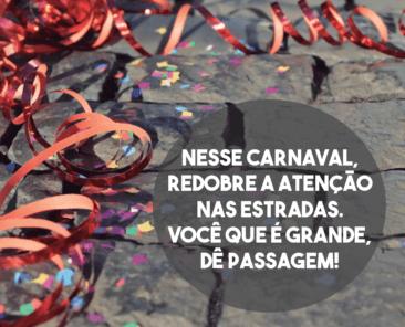 Carnaval - Cuidado nas Estradas